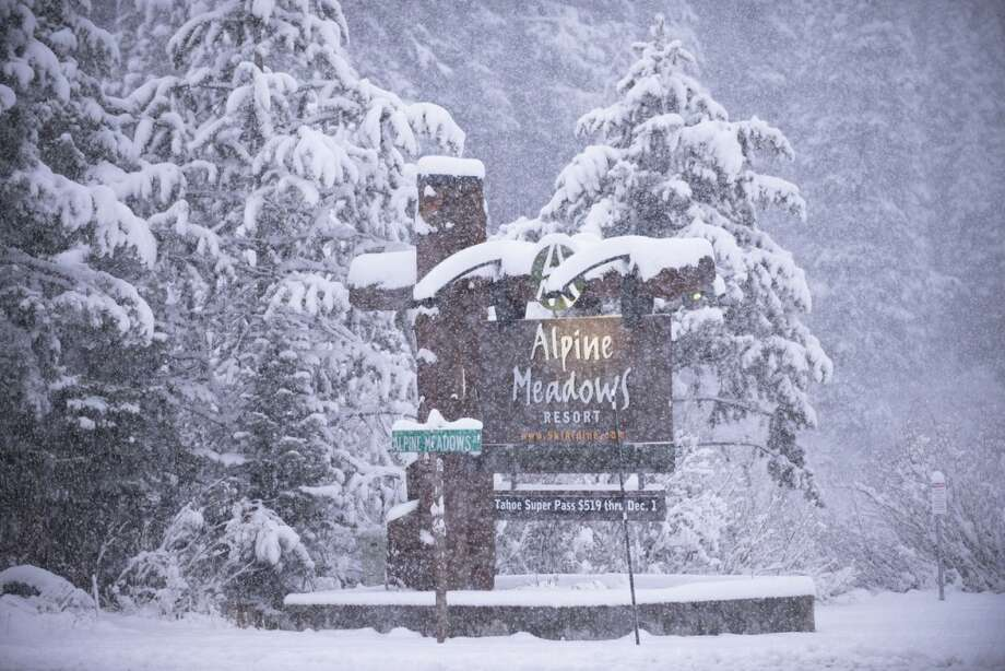Alpine Meadows gets a hearty dusting of snow. Photo: Mat Palmer, Courtesy