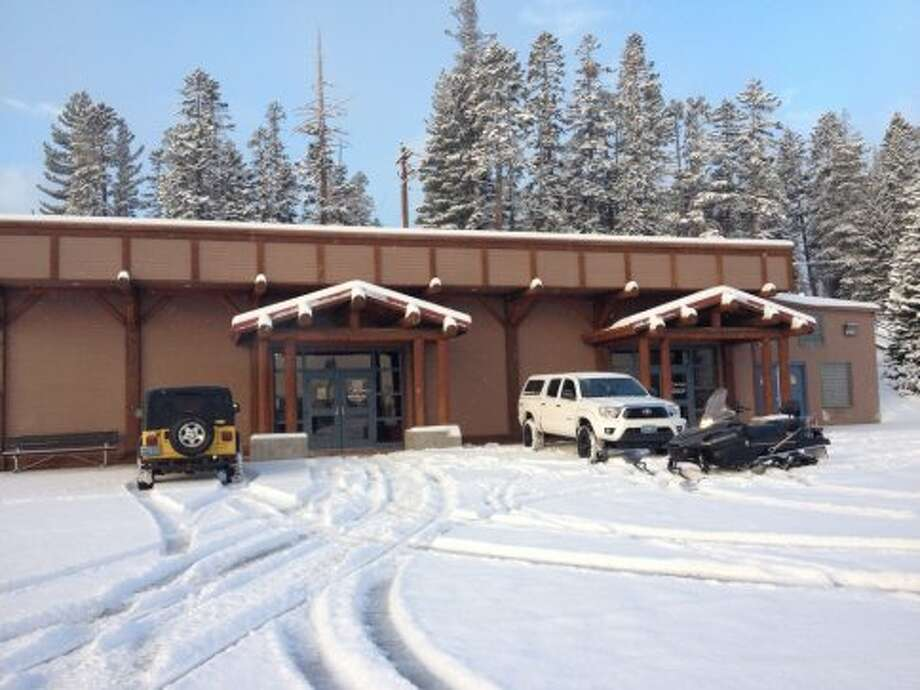 New snow in the parking lot at Mt. Rose. Photo: Mt. Rose, Courtesy