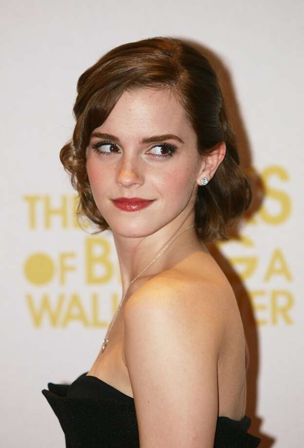 British actress Emma Watson works the mid-length short cut at a screening of her latest film 'The Perks of Being a Wallflower' in London. Photo: Max Nash, AFP/Getty Images