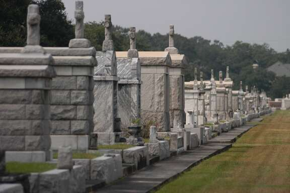 Legend has it the cemetery originally was a racetrack, purchased and turned into a graveyard in the 1800s by a man who had been turned away from the track.
