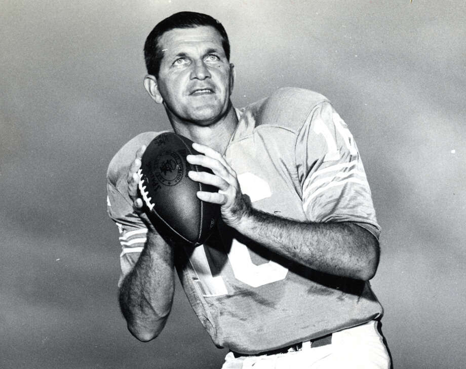 George Blanda, Houston Oilers (1960-66)Blanda led the Oilers to AFL championships in 1960 and 1961, the first two years the league was in existence, and to the 1962 AFL championship game against the Dallas Texans. He threw for 19,149 yards and 165 TDs with the Oilers before playing nine more years, retiring at 48, with the Raiders. He is a member of the Pro Football Hall of Fame. Photo: Laughead Photographers, Dallas / handout