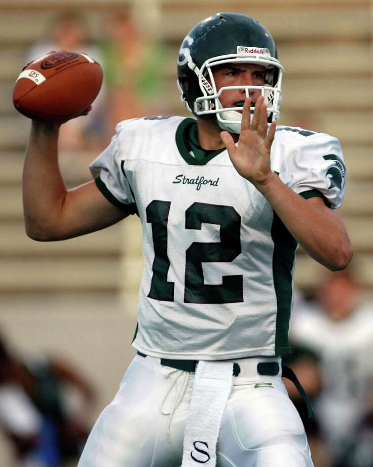Andrew Luck, Houston Stratford (2004-07)The son of former Oilers quarterback Oliver Luck threw for 7,139 yards and 53 TDs and ran for 2,085 yards at Stratford. In three seasons at Stanford, he had 9,430 yards and 82 TD passes with a 31-7 record as a starter. He was runner-up for the Heisman Trophy in 2010 and 2011 and was the 2011 Capital One Academic All-America of the Year. In the 2012 NFL draft, the Indianapolis Colts selected Luck with the No. 1 overall pick. In his first two seasons, Luck has led the Colts to the playoffs and he earned a spot in the Pro Bowl. Photo: Aaron M. Sprecher, For The Chronicle / Freelance