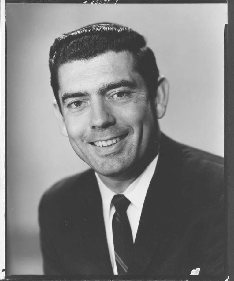 Portrat of American television journalist Dan Rather, 1962. Photo: CBS Photo Archive, Getty Images