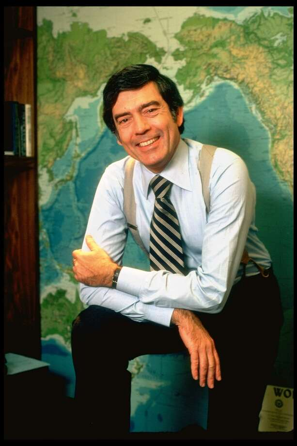 60 Minutes broadcast journalist Dan Rather, named to succeed Water Cronkrite as CBS evening news anchorman, at 60 Minutes HQ. Photo: Carl Mydans, Time & Life Pictures/Getty Image