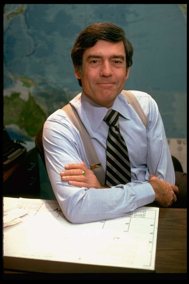 Dan Rather after he was named to succeed Walter Cronkite. Photo: Carl Mydans, Time & Life Pictures/Getty Image