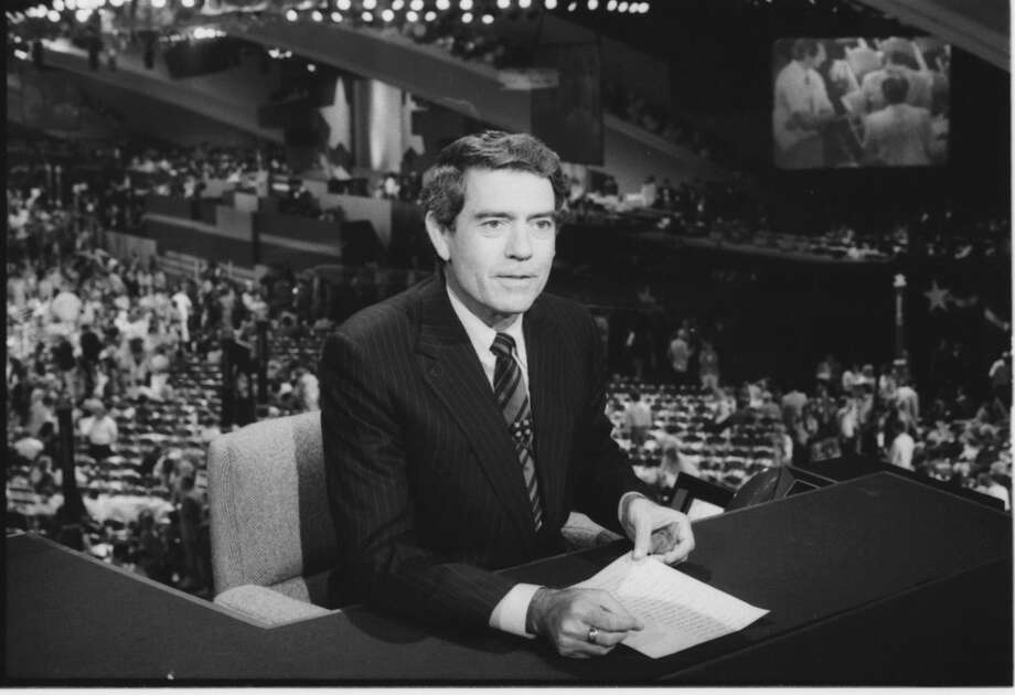 Dan Rather of CBS News at the 1984 Democratic National Convention in San Francisco, CA. July 1984. Photo: CBS Photo Archive, CBS Via Getty Images