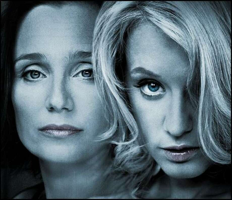 LOVE CRIME -- a terrific French thriller starring Kristin Scott Thomas and Ludivine Sagnier -- very worth seeing.