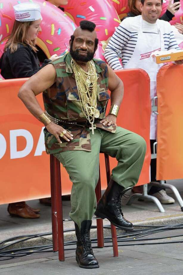 Al Roke, Dressed as Mr T Photo: Slaven Vlasic, Getty Images / 2013 Getty Images