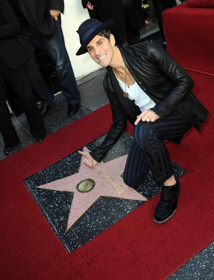 Lead singer Perry Farrell of Jane's Addiction Honored On The Hollywood Walk Of Fame on October 30, 2013 in Hollywood, California.  (Photo by Albert L. Ortega/Getty Images) Photo: Albert L. Ortega, Getty Images