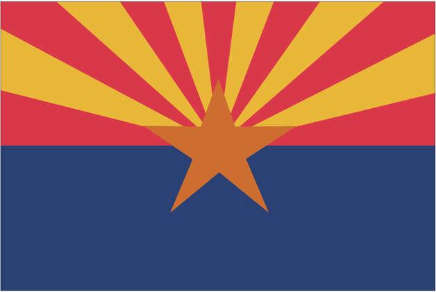 Arizona flag Photo: Globe Turner, LLC, Getty Images/GeoNova Maps / GeoNova Maps