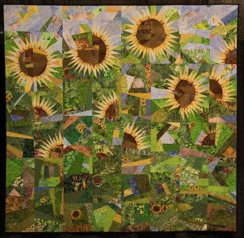 Sunflower Garden by LaGrange quilter Brigitte Mesechke. John Everett photo Photo: John Everett / John Everett