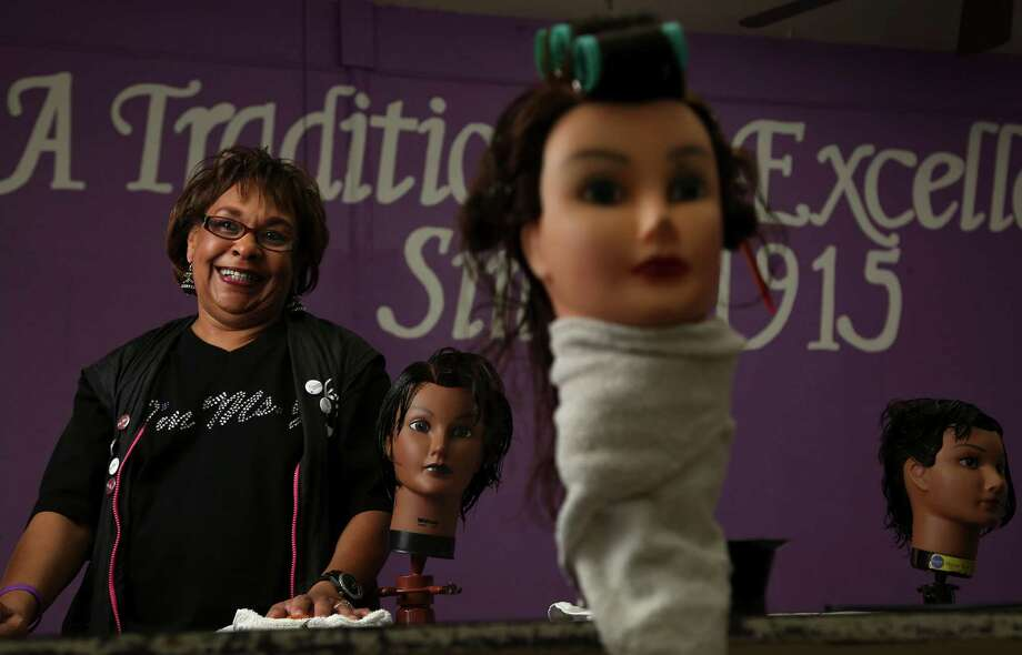 """Houston Beauty,"" starring the city's Franklin Beauty School, debuted on Oprah Winfrey's OWN network in the fall. The school is run by Glenda Jemison. Despite her best efforts, there was plenty of drama caught on camera, including student fights. Photo: Karen Warren, Staff / © 2013 Houston Chronicle"