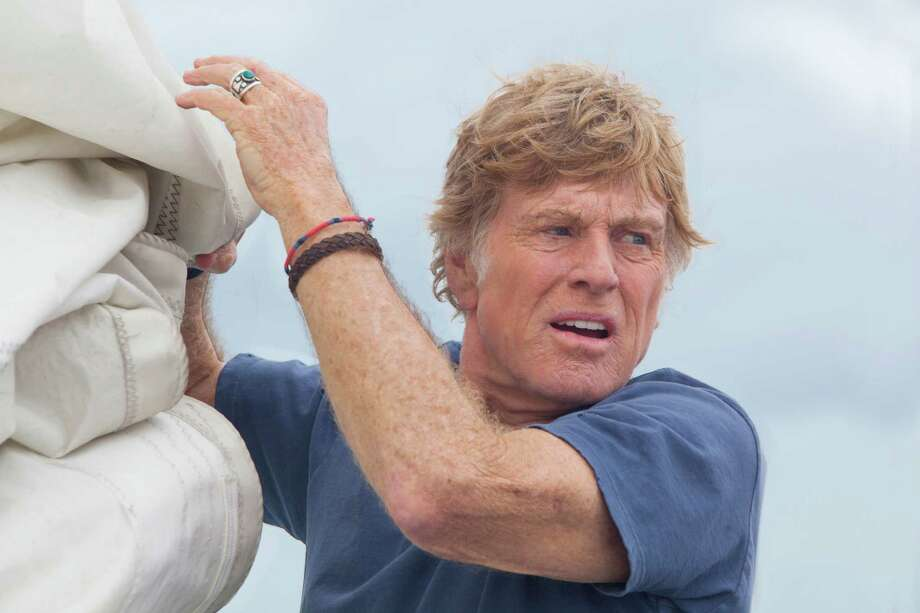 "Robert Redford stars as a man adrift on his yacht in J.C. Chandor's ""All Is Lost."" Photo: Daniel Daza, HONS / Roadside Attractions"