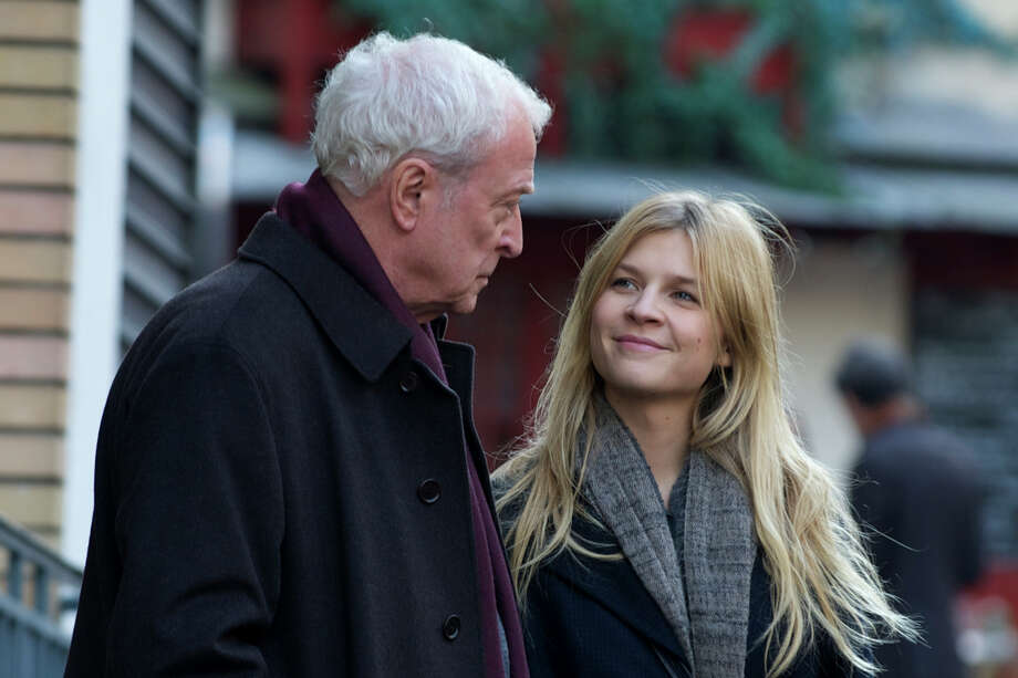 "Michael Caine and Clemence Poesy star in ""Last Love."" Photo: --"