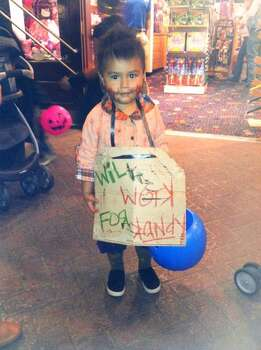 My two year old son Jesiah is a homeless kid who will work for kandy this Halloween. 