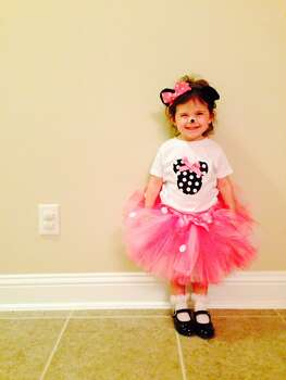 Alyssa, 32 months, Halloween Party for Daycare this morning.