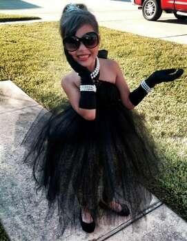 Carissa as Audrey Hepburn!  (Yadira Cruz)