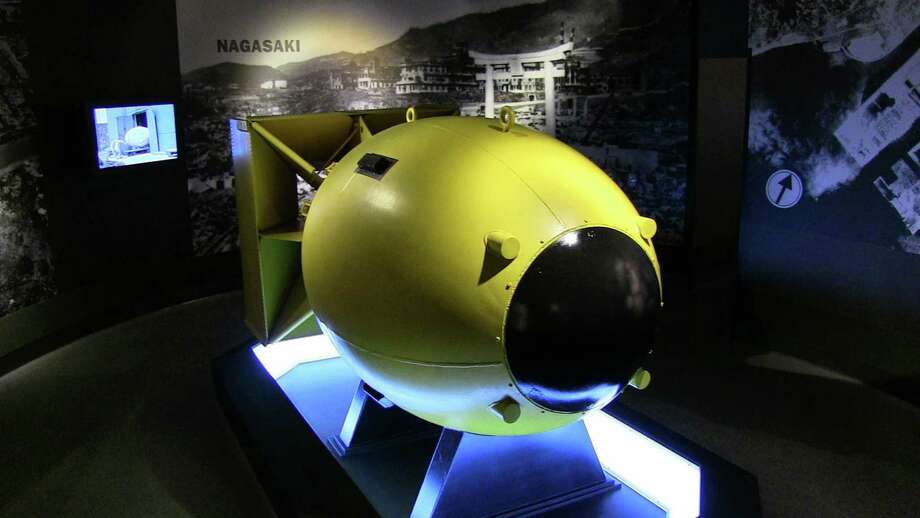 Where else can you see an actual casing of an atomic bomb from World War II? The U.S. military was prepared to drop more than two if necessary. It's on view at Fredericksburg's National Museum of the Pacific War. Photo: Courtesy Photo