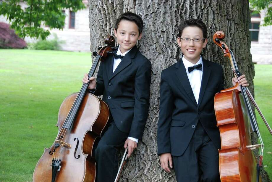 Julian Shively of Trumbull and Camden Archambeau of Weston will be among the performers at the Music for Youth Benefit Concert.