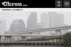 Chron.com mobile website homepage /  Screenshots taken Oct. 31, 2013