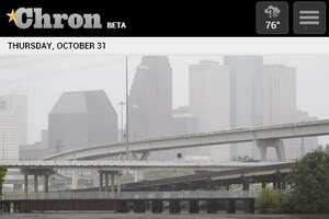 Chron.com mobile website homepage /  Screenshots taken Oct. 31, 2013