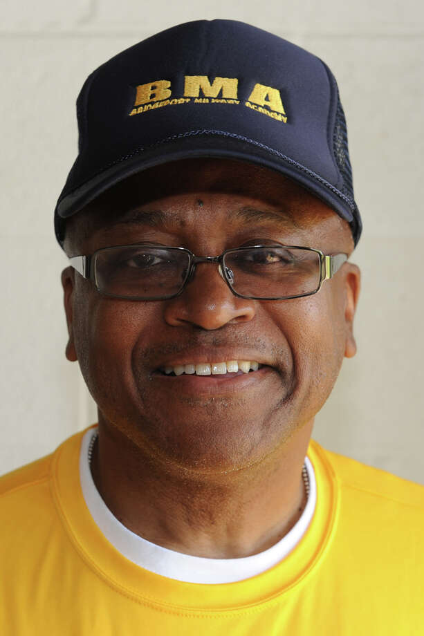 Byron Williams, Principal of Bridgeport Military Academy in Bridgeport, Conn. Photo: Ned Gerard / Connecticut Post