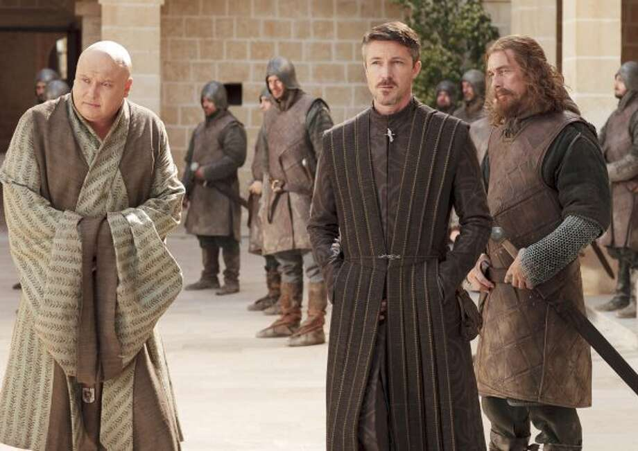"Littlefinger (middle) from ""Game of Thrones."" HBO"