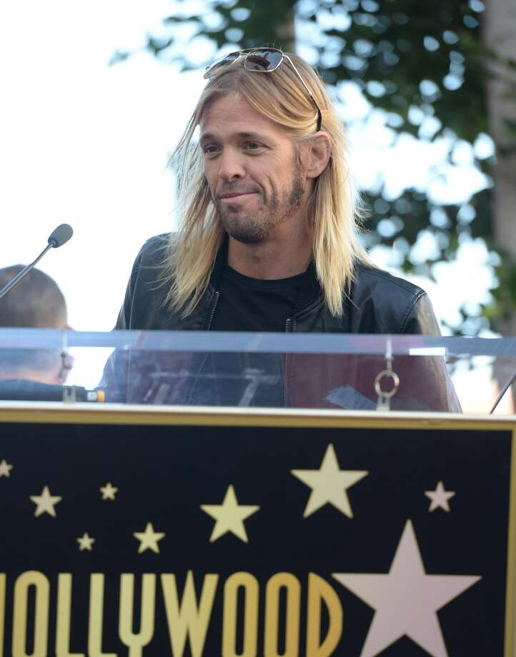 Musicians Taylor Hawkins attends the ceremony honoring Jane's Addiction with a Star on The Hollywood Walk of Fame on October 30, 2013 in Hollywood, California.  (Photo by Jason Merritt/Getty Images) Photo: Jason Merritt, Getty Images