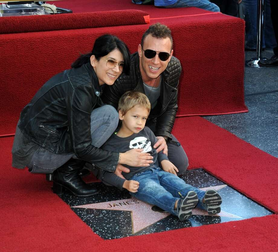 Drummer Stephen Perkins and family at Jane's Addiction Star On The Hollywood Walk Of Fame Ceremoney on October 30, 2013 in Hollywood, California.  (Photo by Albert L. Ortega/Getty Images) Photo: Albert L. Ortega, Getty Images