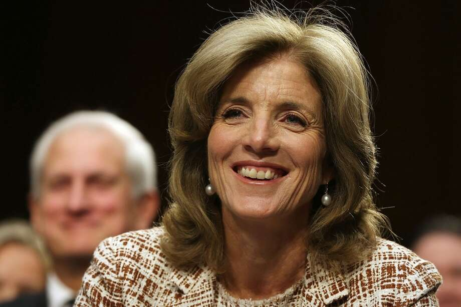 "Caroline Kennedy, at 55, is 12 years older than her father when he became President.  She has been intensely private, selective in her causes -- New York Public Schools, the NAACP Legal Defense Fund -- and has occasionally appeared on stage as a book author.  Her best: ""In Our Defense: The Bill of Rights in Action.""  She assumed a much higher profile in 2008, with a superbly timed endorsement of Barack Obama's presidential campaign.  She was vetted for the U.S. Senate seat opened when Hillary Clinton became Secretary of State.  Recently, she has been nominated by Obama for a key diplomatic post -- U.S. Ambassador to Japan. Photo: Mark Wilson, Getty Images"