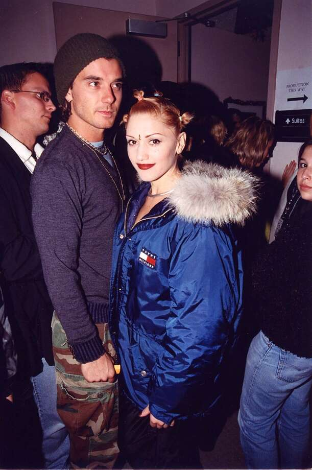 Gavin Rossdale and Gwen Stefani at the KROQ Acoustic Xmas show in 1997. Photo: Jeff Kravitz, FilmMagic / FilmMagic, Inc