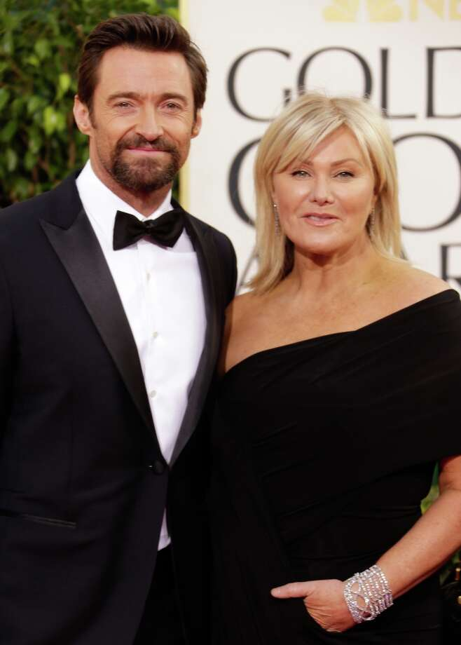 Actor Hugh Jackman married his wife Deborra-Lee Furness in 1996. Photo: Jeff Vespa, WireImage / 2013 Jeff Vespa