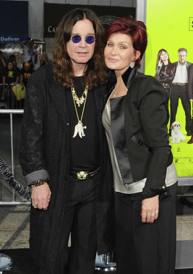 "Ozzy Osbourne and Sharon Osbourne made it legal in 1982. As anyone who has watched MTV's ""The Osbournes"" knows, they have three kids, Kelly,  Jack and the little-seen Aimee.   (Photo by Jon Kopaloff/FilmMagic) Photo: Jon Kopaloff, FilmMagic / 2012 Jon Kopaloff"
