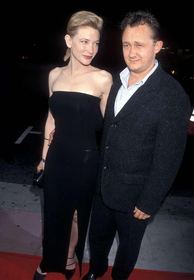 "Cate Blanchett and Andrew Upton at the 1998 premiere of ""Elizabeth."" Photo: Ron Galella, Ltd., WireImage / 1998 Ron Galella, Ltd."