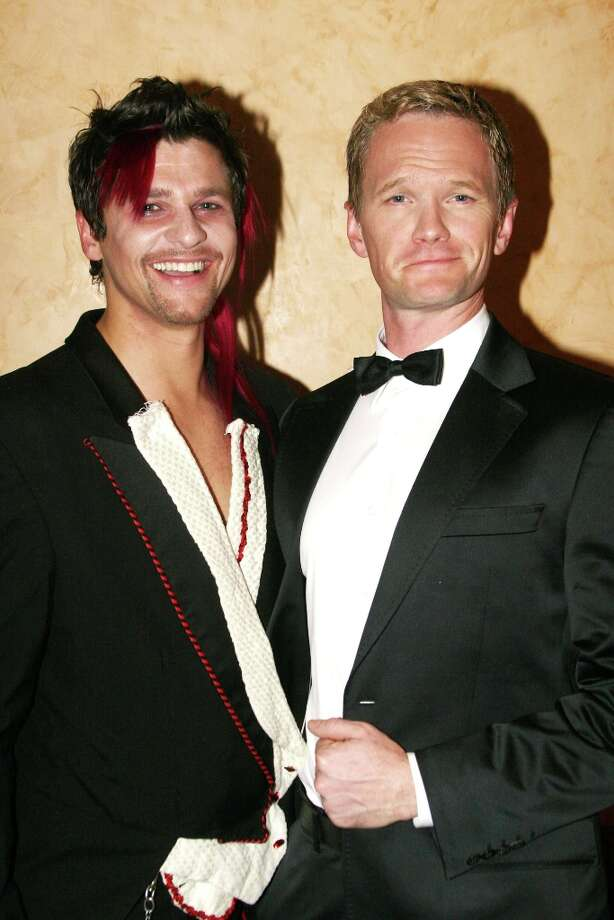 "David Burtka and Neil Patrick Harris in 2007 at ""The Rocky Horror Tribute Show"" on Broadway. Photo: Bruce Glikas, FilmMagic / FilmMagic"