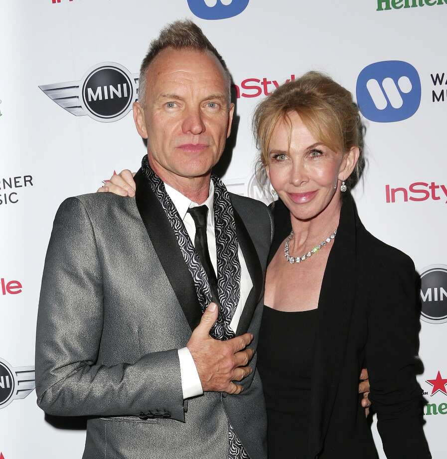 With Sting and his wife Trudie Styler, it was a 'complicated' start. He was married in 1982 when the couple began seeing each other, then Trudie got pregnant. Sting divorced his first wife, and the couple lived together for years before marrying in 1992. They have four kids. Photo: Frederick M. Brown, Getty Images / 2013 Getty Images