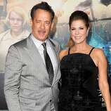 """Tom Hanks and actress Rita Wilson were married in 1988 after feeling sparks fly on the set of 1985's """"Volunteers."""" They have two sons (Hanks also has two kids from his previous marriage)."""