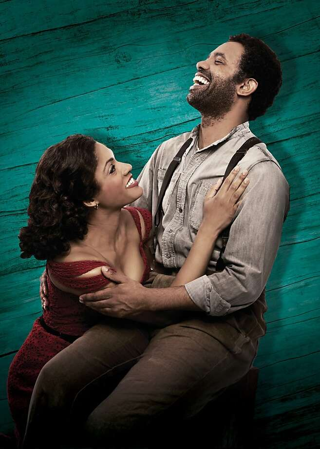 "Nathaniel Stampley is Porgy and Alicia Hall Moran is Bess in the national tour of ""The Gershwins' Porgy and Bess"" at the Golden Gate Theatre as part of the SHN season. Photo by Jeremy Daniel Photo: Jeremy Daniel"