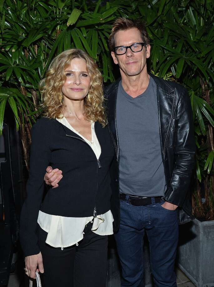 Actors Kyra Sedgwick and husband Kevin Bacon married in 1988 after meeting on the set of a PBS production. They have two kids. Photo: Mike Coppola, WireImage / 2012 WireImage