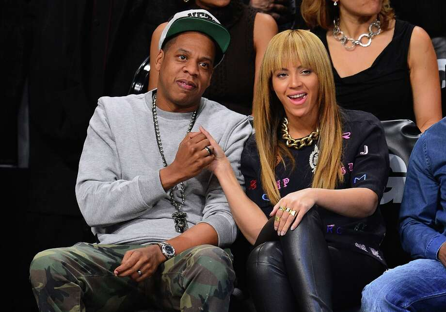 Jay-Z and Beyonce Knowles have been married since 2008 but met in 2002. They welcomed daughter Blue Ivy in 2012. Photo: James Devaney, FilmMagic / 2012 James Devaney