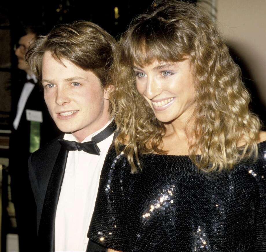 Michael J. Fox and Tracy Pollan in 1986. Photo: Ron Galella, WireImage / Ron Galella Collection