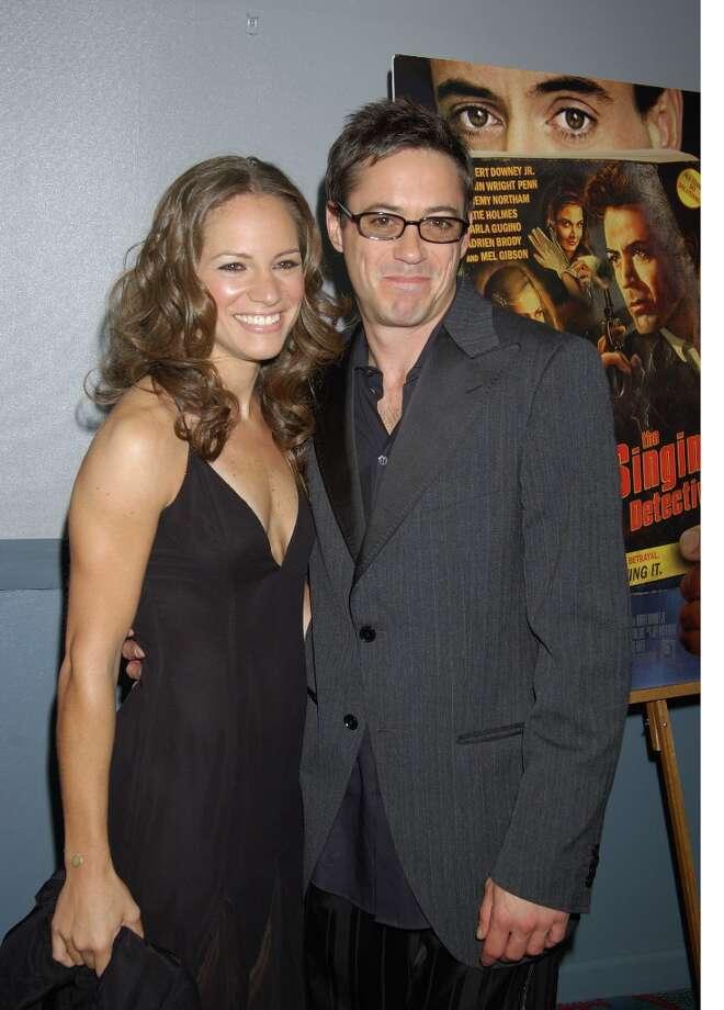 Susan Levin and Robert Downey Jr. in 2003. Photo: Robin Platzer, FilmMagic / FilmMagic