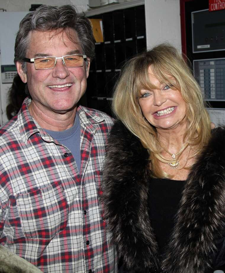 Kurt Russell and Goldie HawnActors Kurt Russell and Goldie Hawn have been together since 1983. The couple played an on-screen duo in the 1987 film 'Overboard.' Photo: Bruce Glikas, FilmMagic / 2010 Bruce Glikas