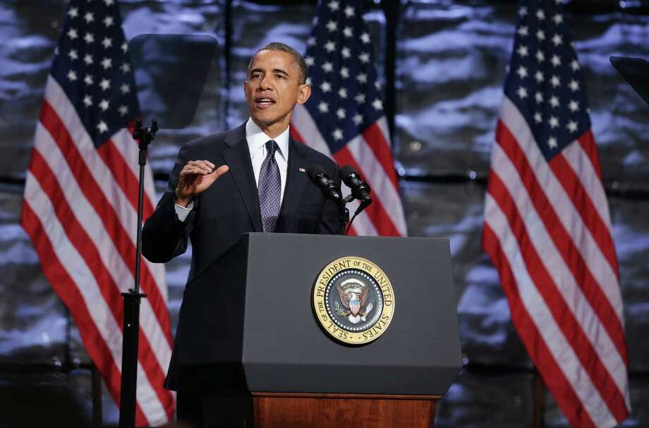 President Barack Obama says the program's aim is to make better use of the federal government to draw foreign investment. States and cities, competing against nations, typically have carried most of that responsibility. Photo: Alex Wong / Getty Images
