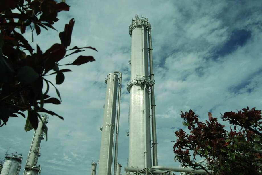Enterprise Products Partners liquids storage facilities in Mont Belvieu, Texas. Handout photos received 3-13-2013 Photo: Enterprise Product Partners