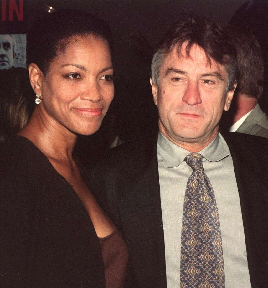"Robert De Niro and Grace Hightower at the premiere of ""Ronin"" in 1998. Photo: Lucy Nicholson, AFP/Getty Images / AFP"