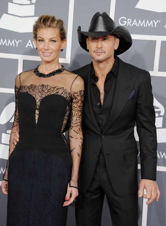 Country music superstars Faith Hill and Tim McGraw were married in 1996 and have three daughters. Photo: Steve Granit, WireImage / 2013 Steve Granitz
