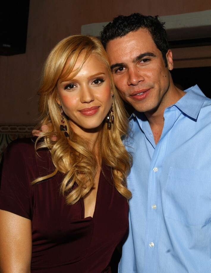 Jessica Alba and Cash Warren in 2005. Photo: John Sciulli, WireImage For GQ Magazine / WireImage