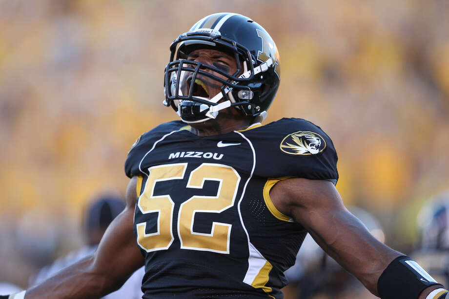 Former Hitchcock whiz kid Michael Sam is nation's best in tackles for loss for Mizzou.