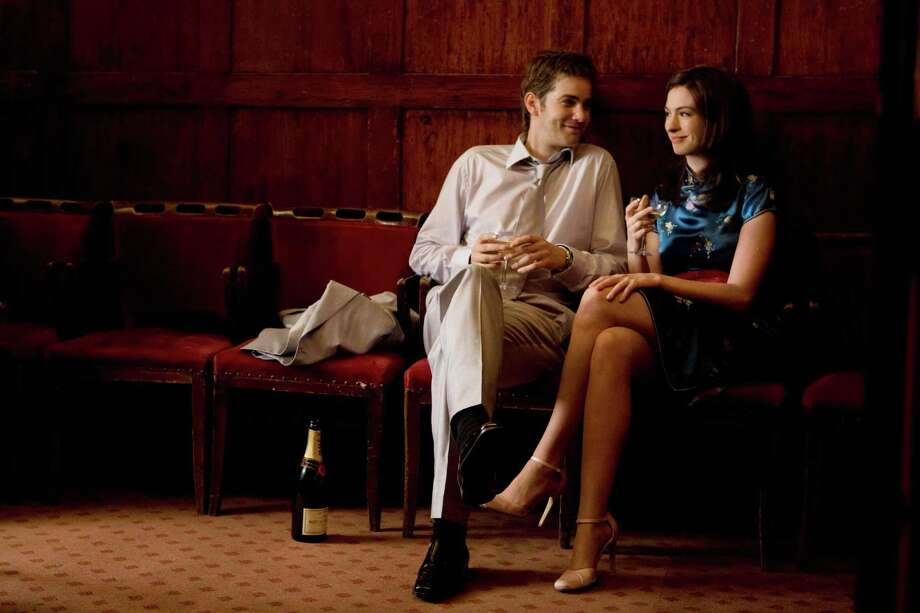 Jim Sturgess (left) and Anne Hathaway (right) star as Dexter and Emma in the romance ONE DAY, directed by Lone Scherfig.  One of the best movies of 2011. Photo: Giles Keyte, Focus Features / ONLINE_YES